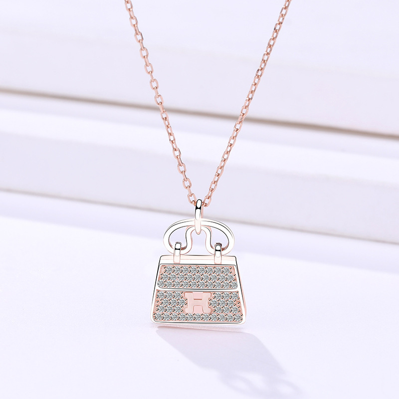 A154a_Electroplated Rose Gold 925