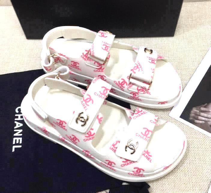 white pink prints