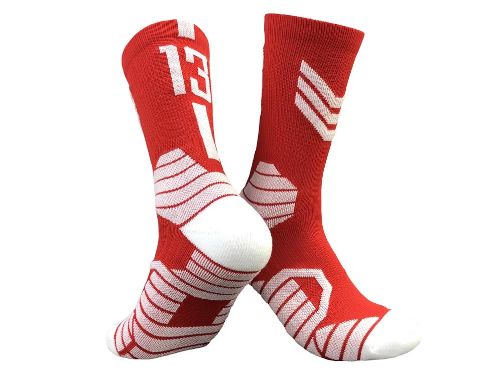 1 pair 13 red