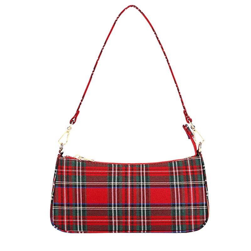 Rouge sac à bandoulière