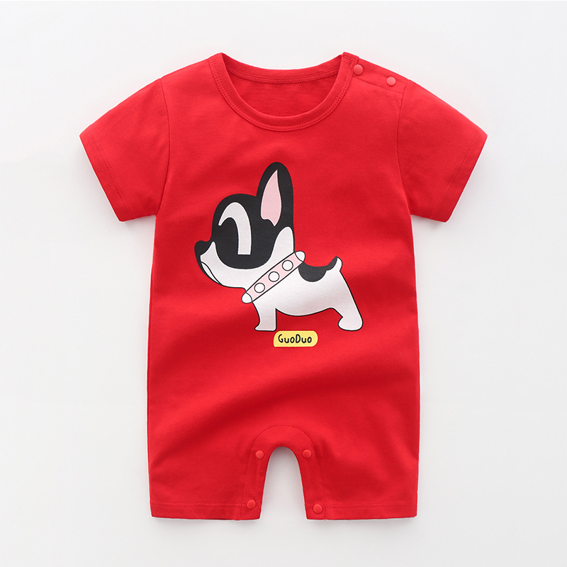 Red Collar Dog (Pure Cotton)