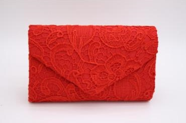 Red lady clutches