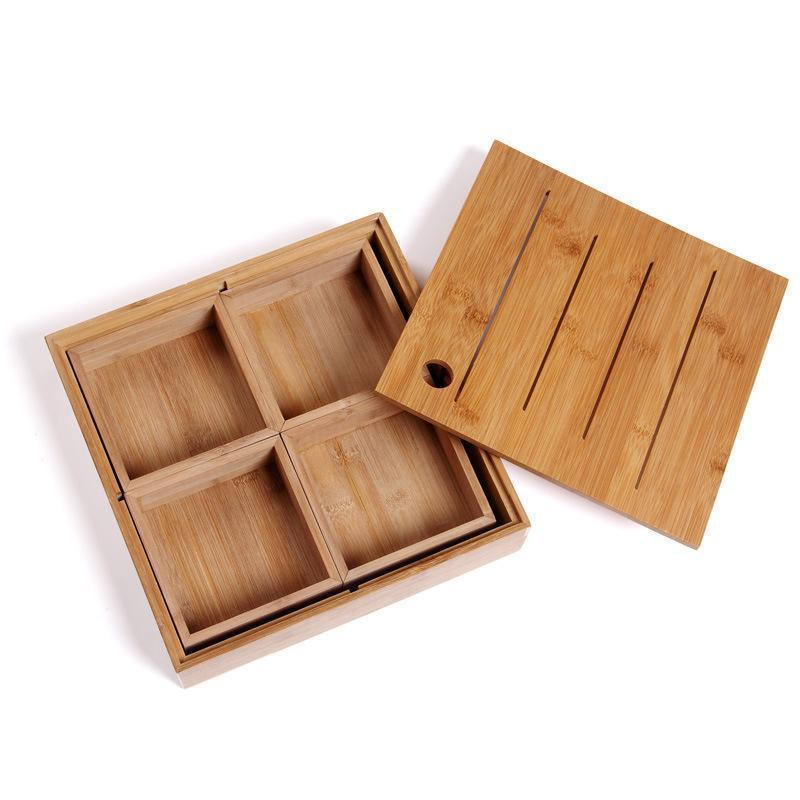 Квадрат (с 4 маленькими коробками)