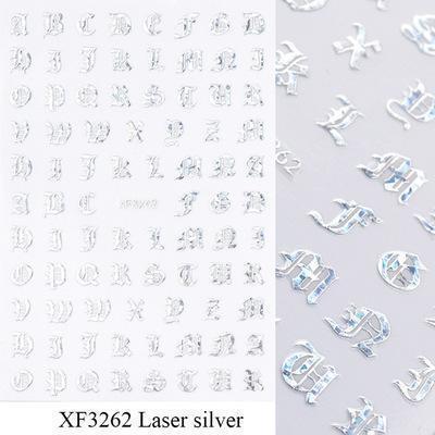 XF3262 الليزر الفضة