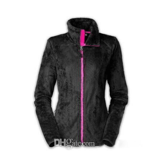 negro con cremallera rosa