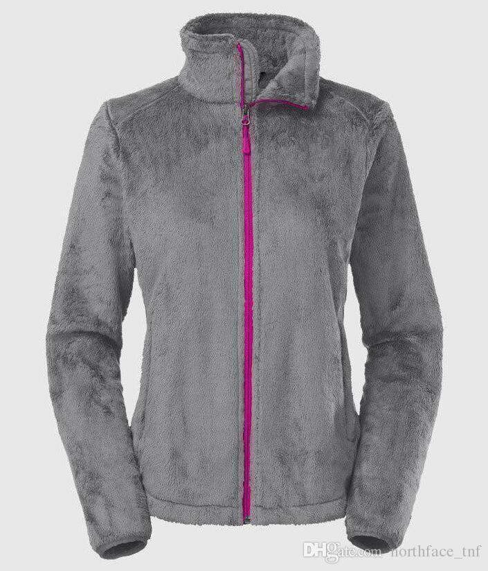 gris avec fermeture à glissière rose