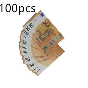50 euros 100pcs