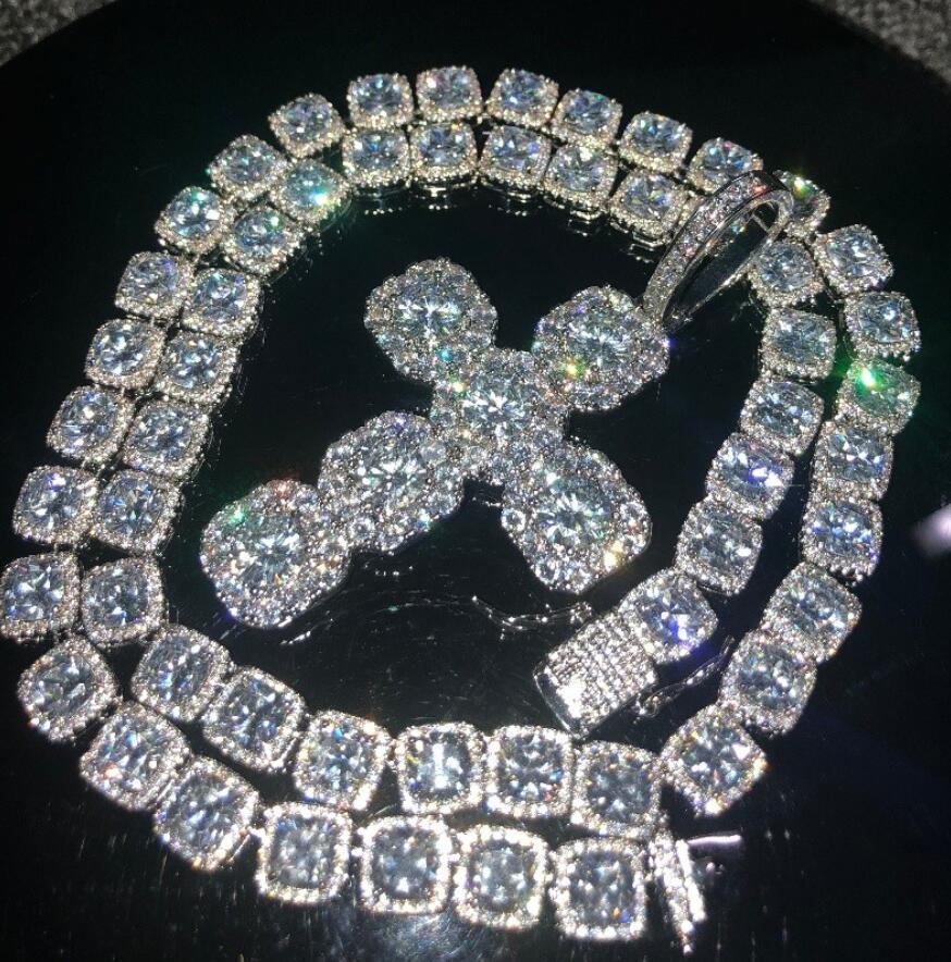 Ожерелье + крест-Щепка-20 дюймов