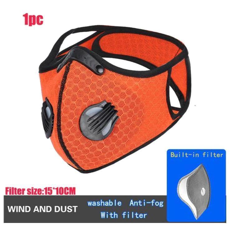 Orange with filter