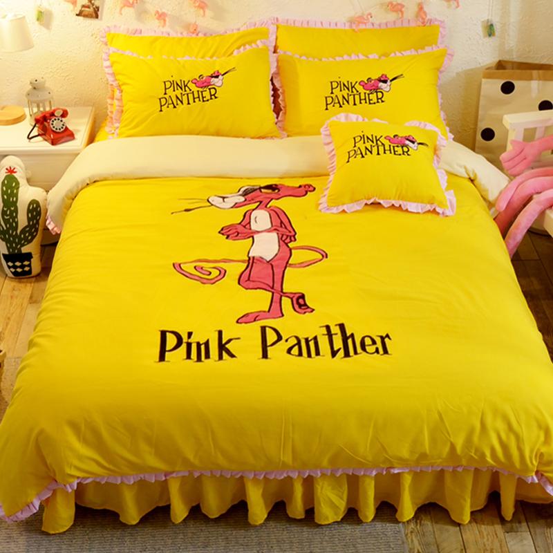 Der rosarote Panther Gelb