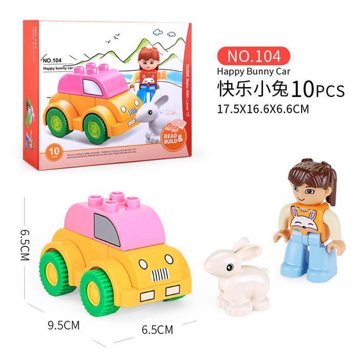 Happy Bunny Car