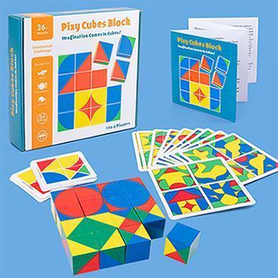 Cube space thinking blocks