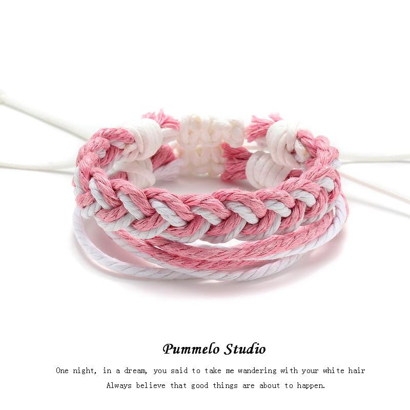Rosa e branco (Combinação) Mancha
