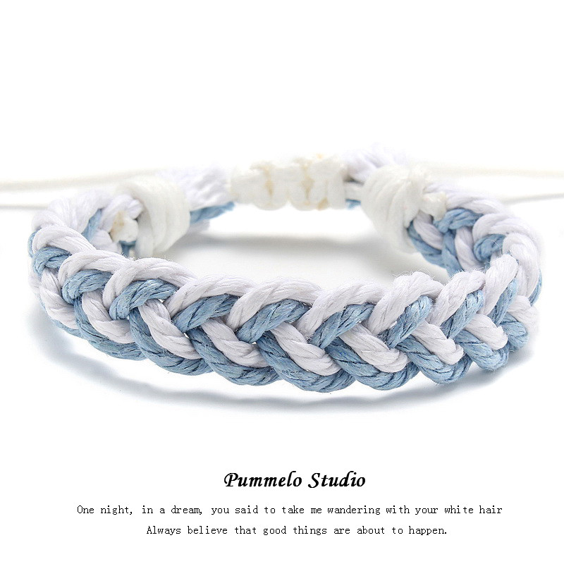 Azul e Branco (Single Rope) em stock