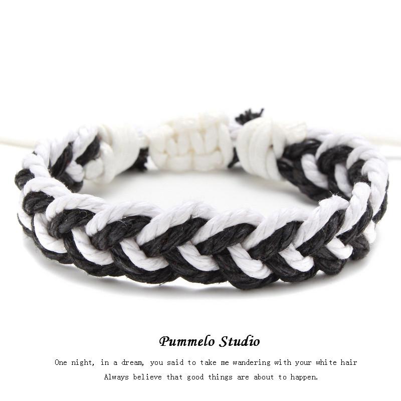 Black and White (Single Rope) Mancha