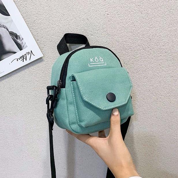 yeşil tek çanta