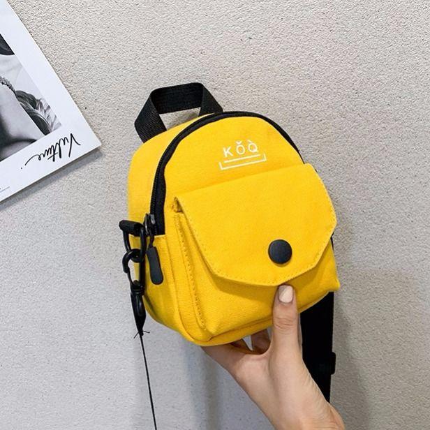 Sarı tek çanta