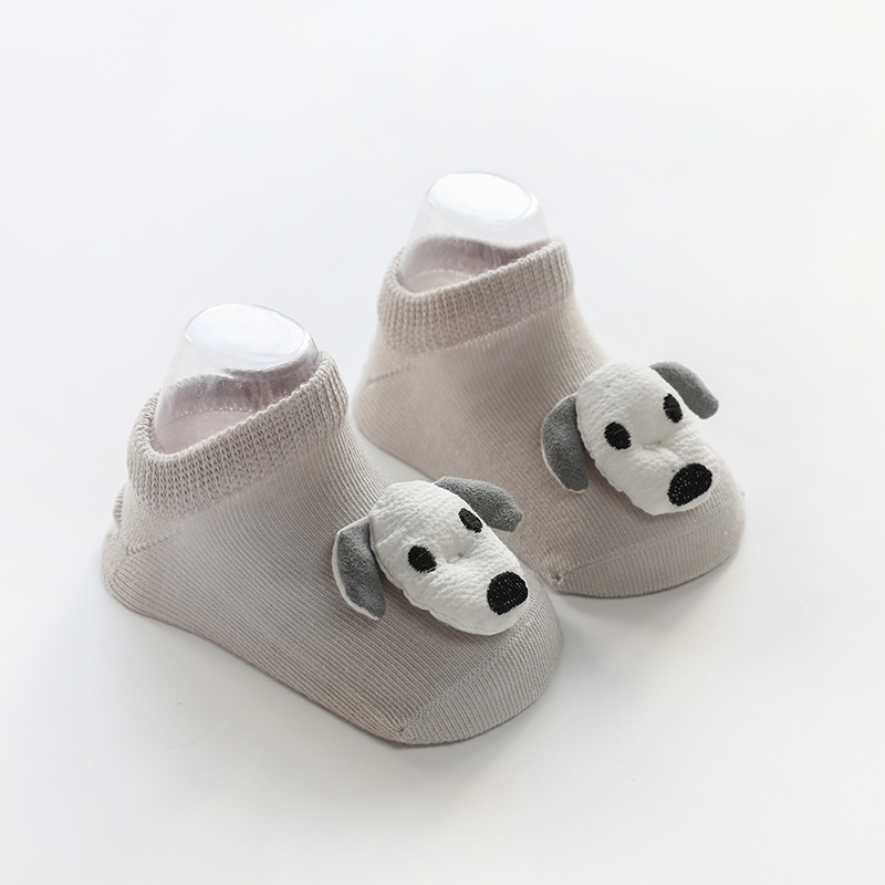 Doll No-Show Socks Puppy
