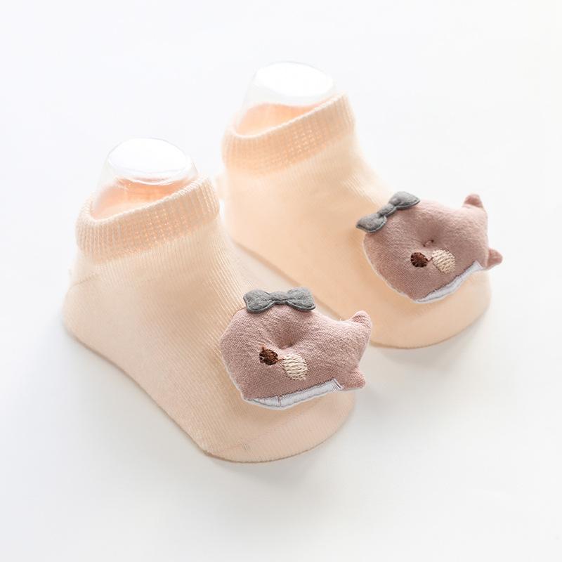 Doll No-Show Socks Dolphin
