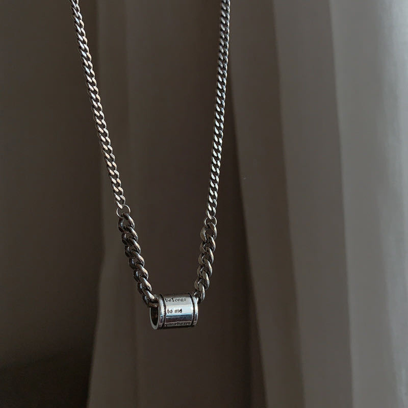 XL0012 cylindrique Collier