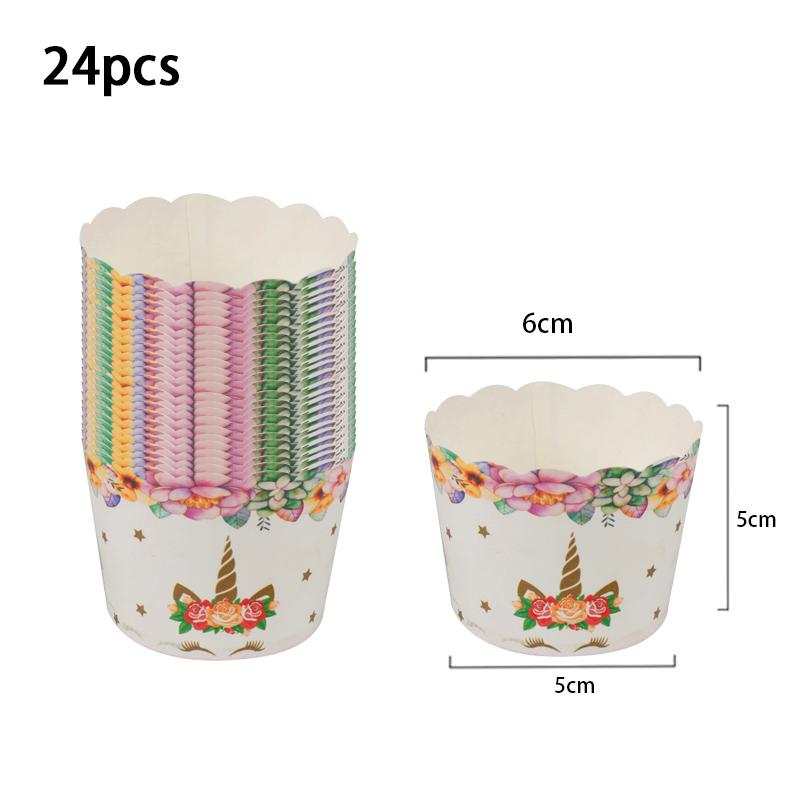 24pcs Muffin Cup