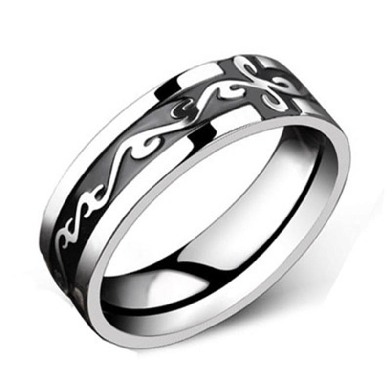 Drachenmuster Ring