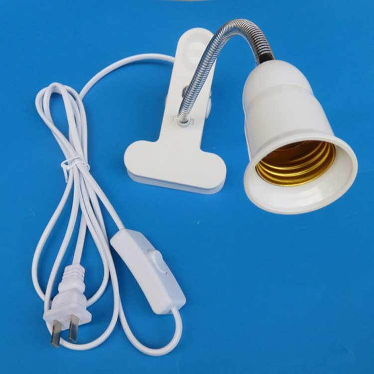 Accesorios: E27 Flexible Holder + Plug