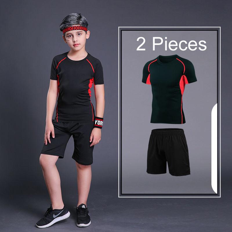 Short Red 2Pcs