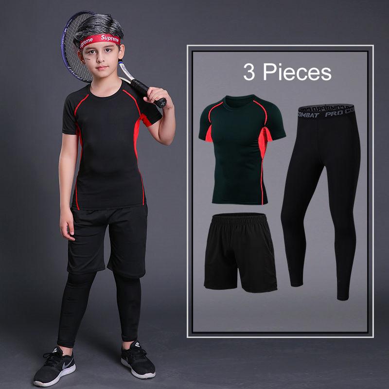 Short Red 3Pcs
