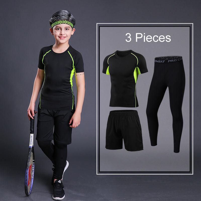 Short Green 3Pcs