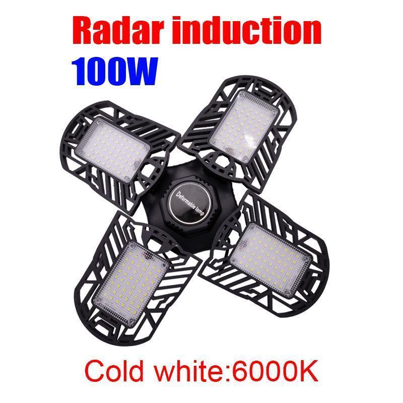 Motion Sensor 6000K 100W