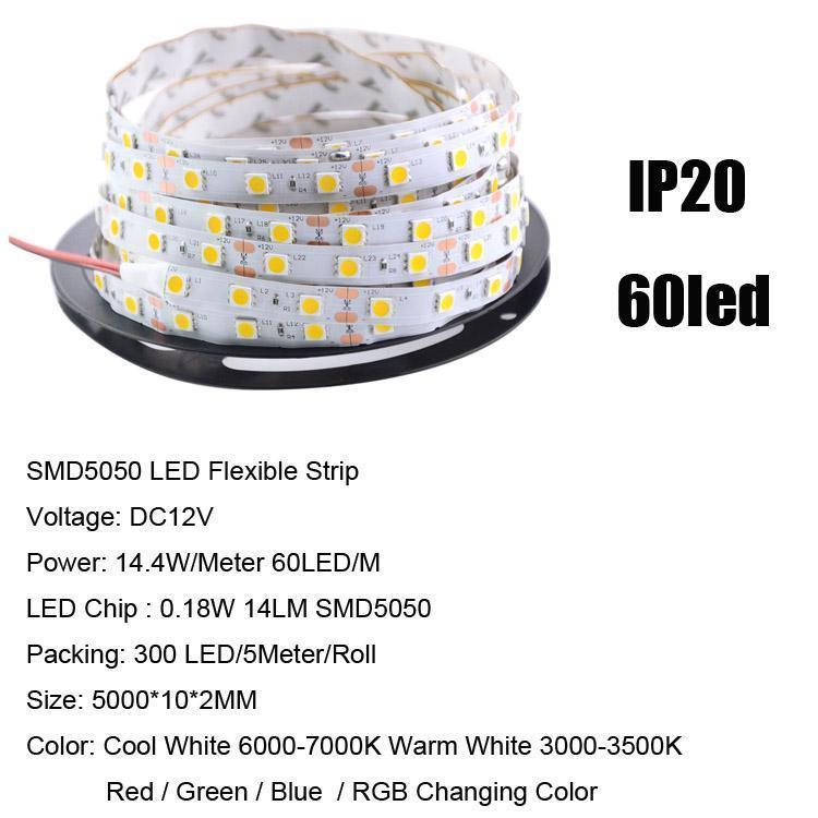 SMD5050 60LED / M IP20