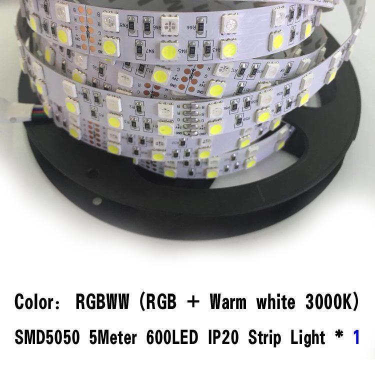 SMD5050 5M RGBWW 600LED IP20