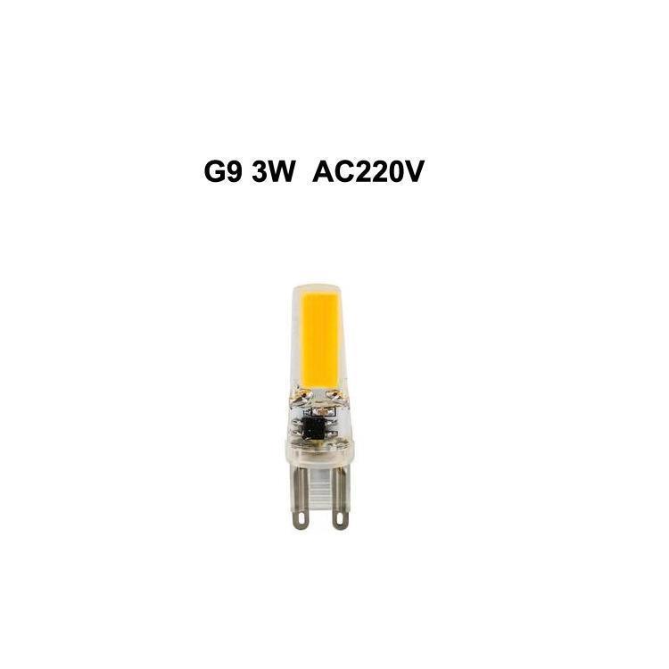 G9 3W AC220V