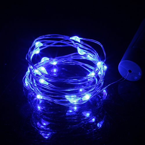 10leds 1m azuis