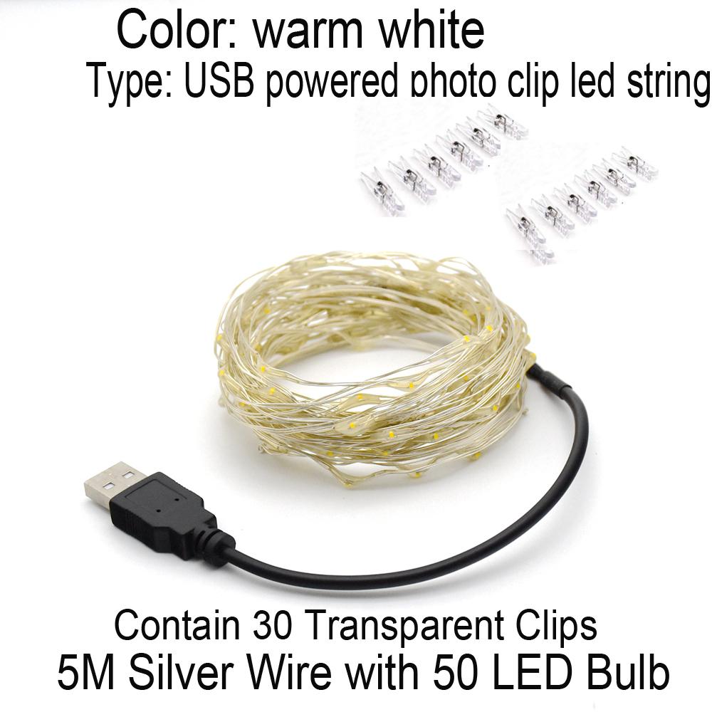 5M USB 30Clips - WW