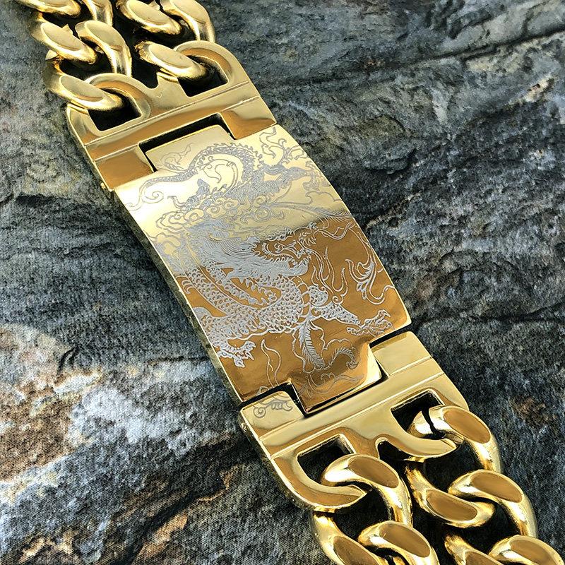 Golden Dragon Bilezik