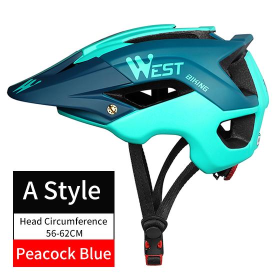Un pavone di stile blu