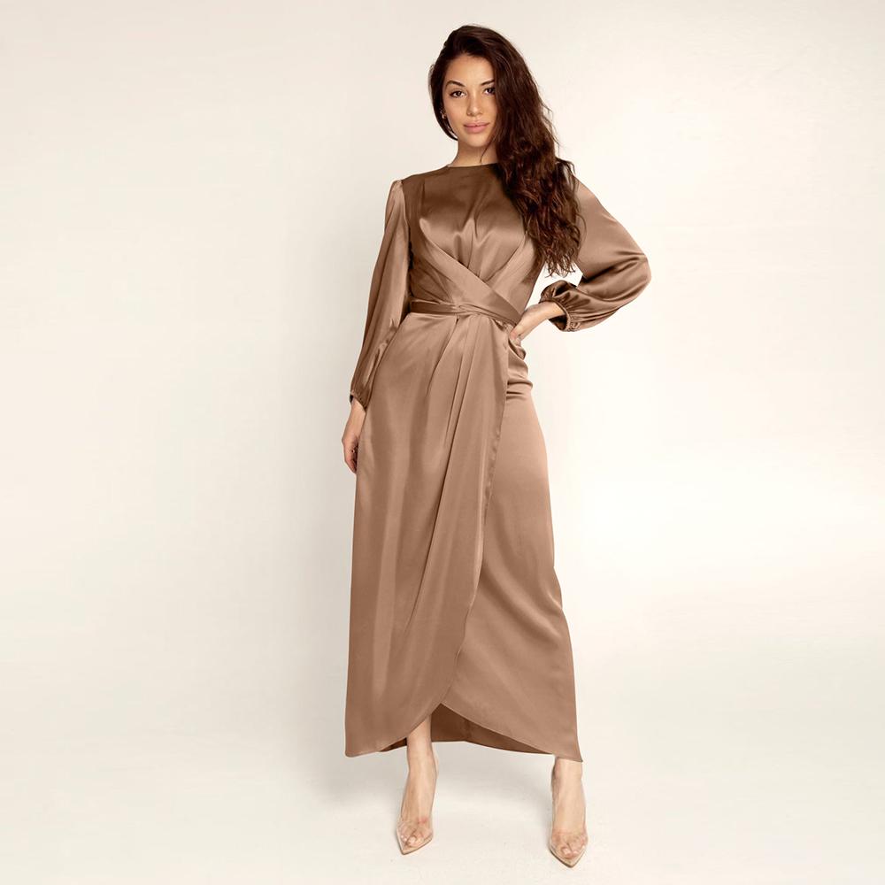 marrom vestido L