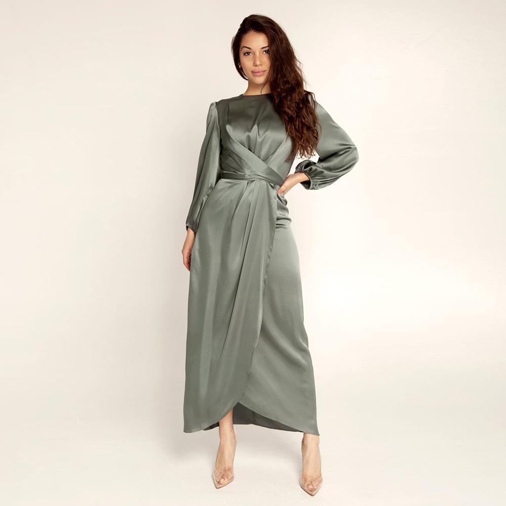 vestido verde L