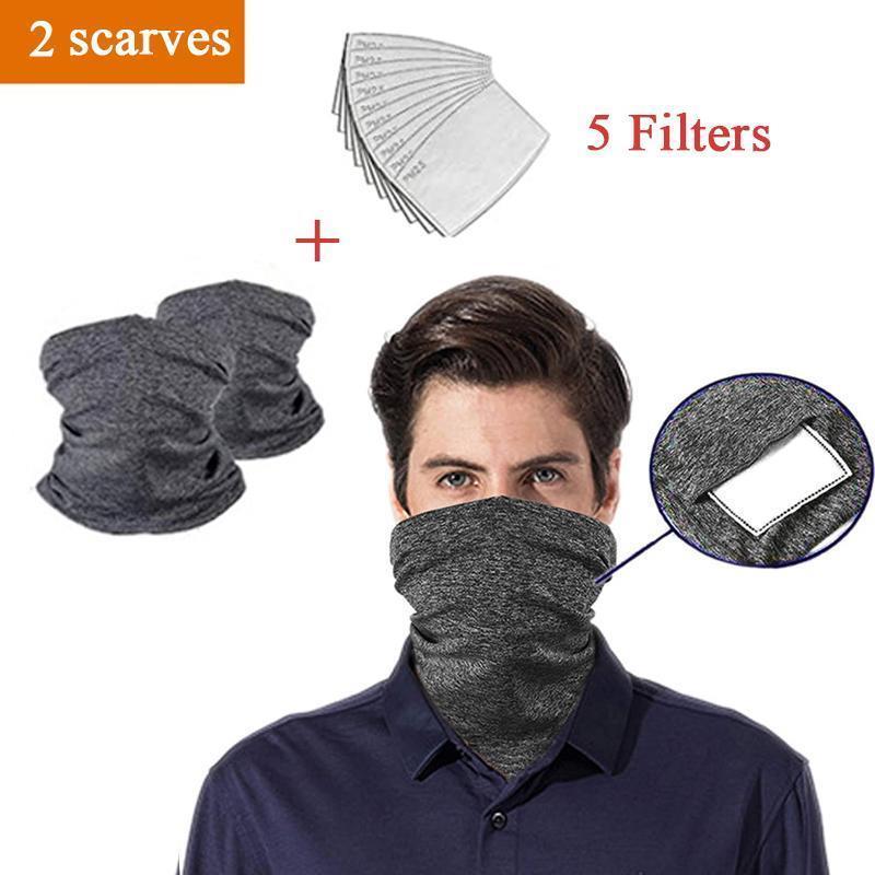 2 шарфы 5 FilterDG