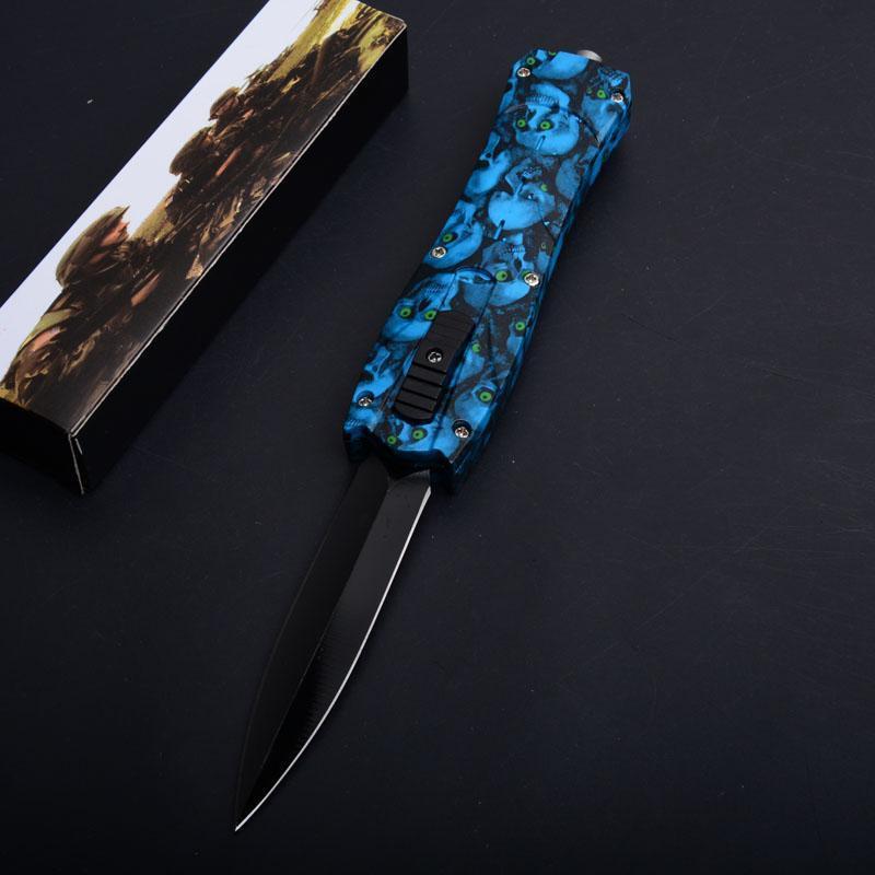 blue Skull handle