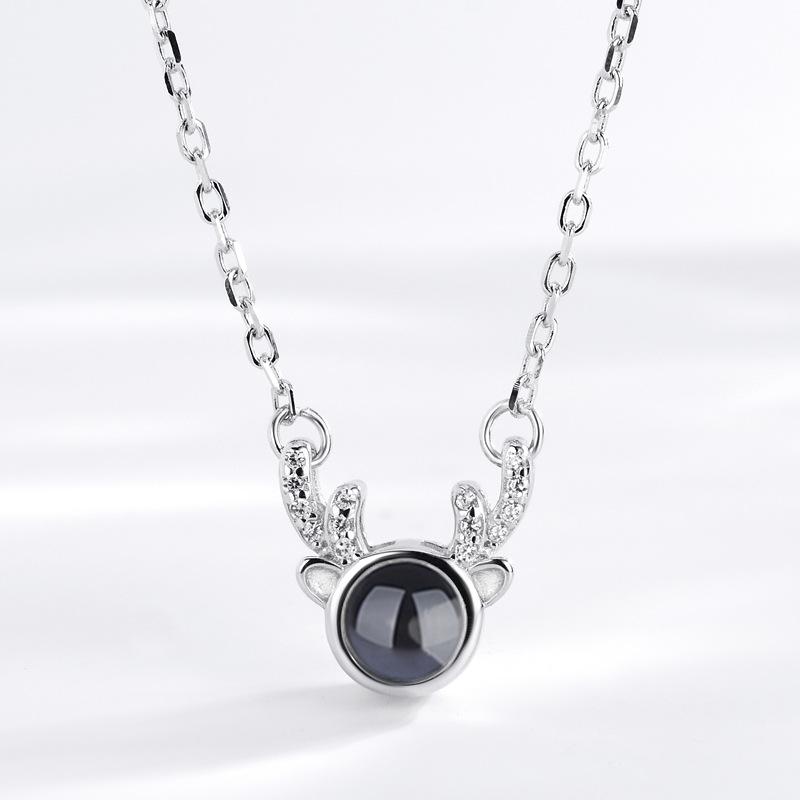 Collar de la plata esterlina B014 925
