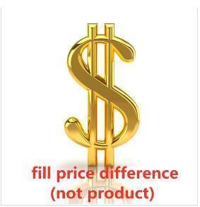 preencha a diferença de preço (não inclua)