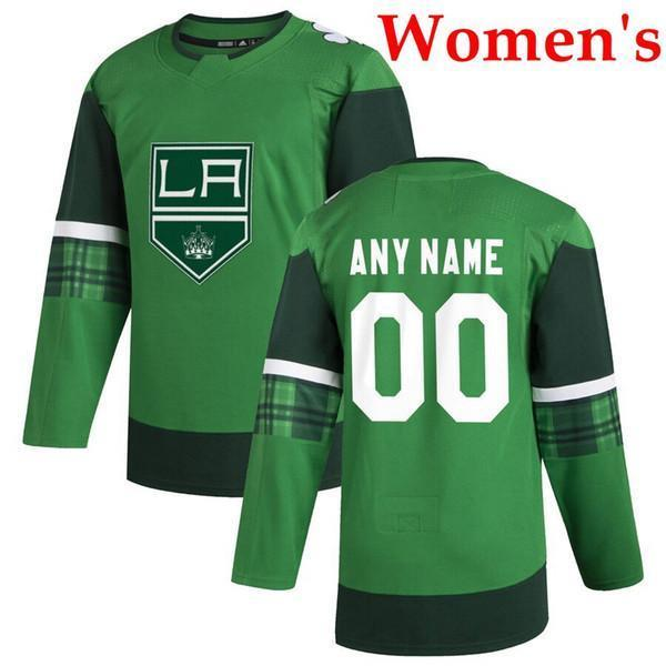 2020 Aziz Patrick Günü yeşil Womens