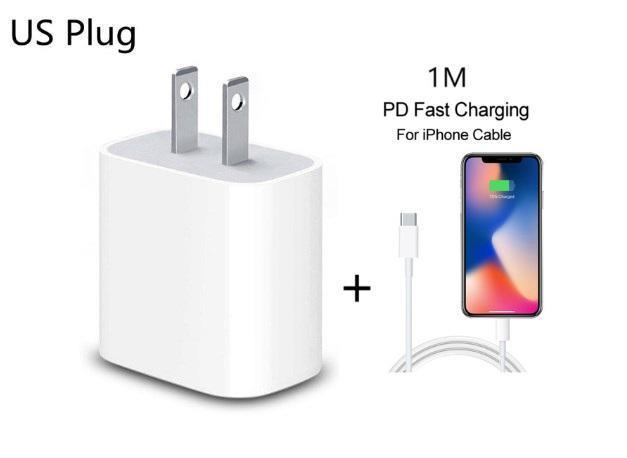 20W-US Charger 1M Cabo