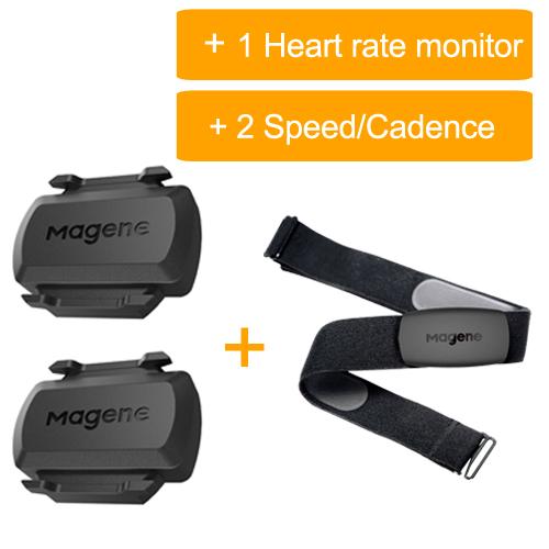 1 H64 and 2 sensor
