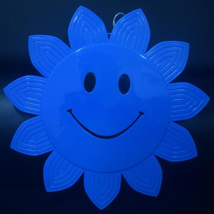 Light Blue LED de 33 centímetros rosto sorridente