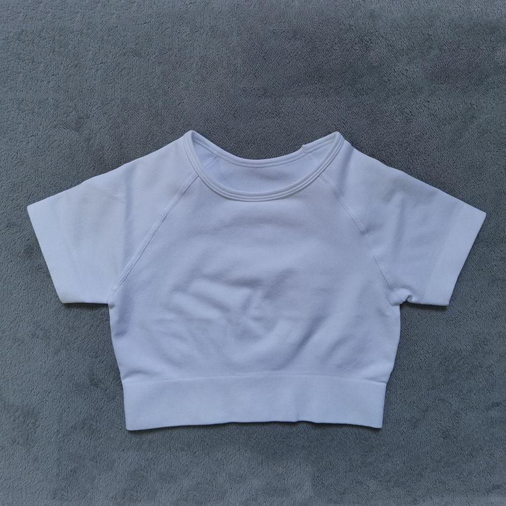 Branca manga curta