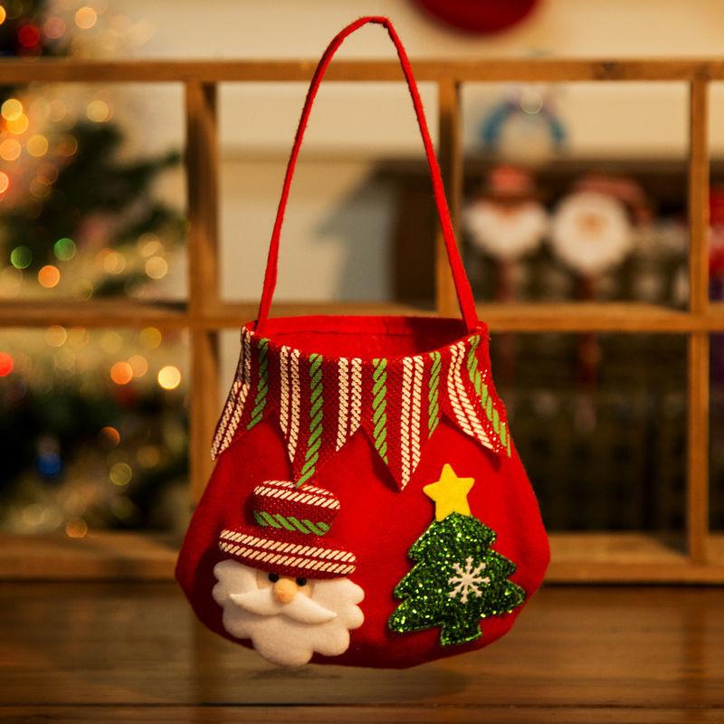 13 * 16 cm Fırçalı Flanel-Santa Claus